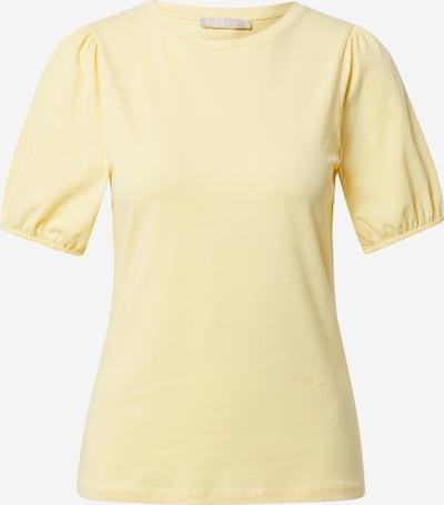 PIECES Shirt 'Sabrina' in pastellgelb, Produktansicht