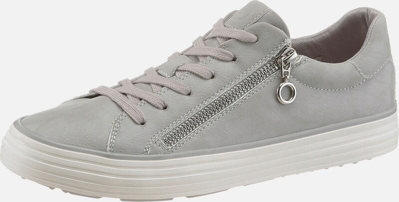 s.Oliver RED LABEL Metallic Sneaker mit Zipper