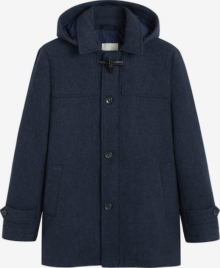 MANGO MAN Mantel in navy: Frontalansicht