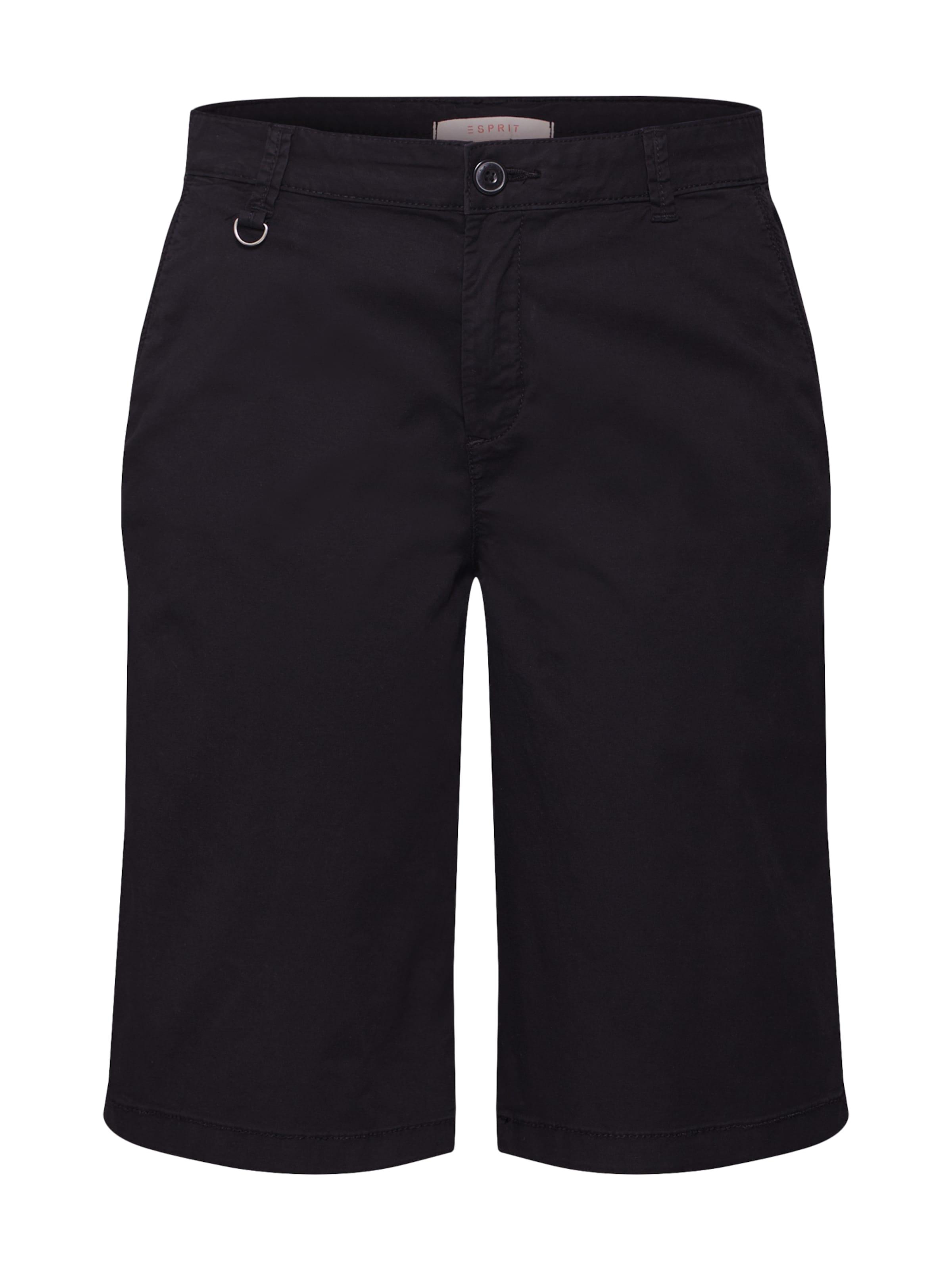 En Chino Esprit Pantalon Esprit Pantalon Noir HD9IE2