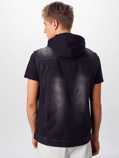 SOUTHPOLE Veste pieejami melns džinsa: Aizmugures skats
