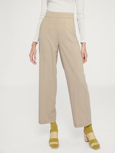 Kelnės su kantu 'Anne' iš EDITED , spalva - smėlio / balkšva, Modelio vaizdas