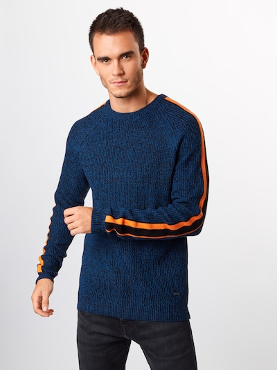 Only & Sons Pullover 'SIMON' in blau: Frontalansicht