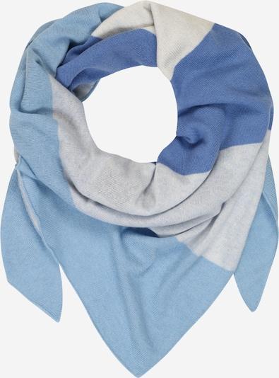 Zwillingsherz Schal in blau, Produktansicht