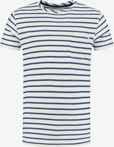 Shiwi Shirt in blau / weiß: Frontalansicht