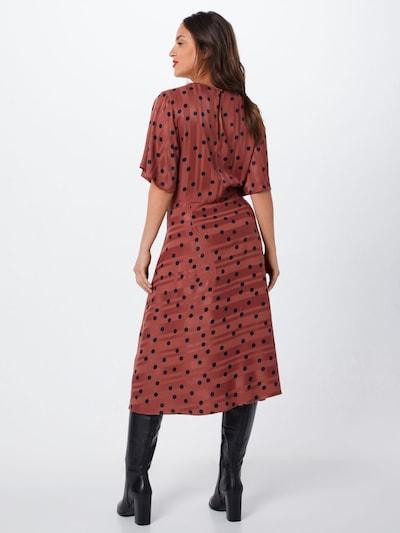 NÜMPH Obleka 'Numeena' | roza barva: Pogled od zadnje strani