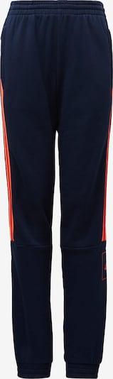 ADIDAS PERFORMANCE Sporthose 'Athletics Club French Terry' in dunkelblau / orangerot, Produktansicht