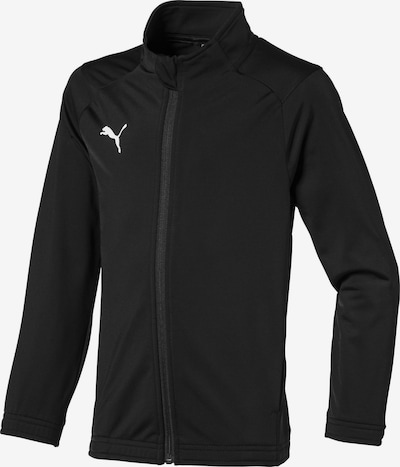 PUMA Jacke 'Liga Sideline Core' in schwarz / weiß, Produktansicht