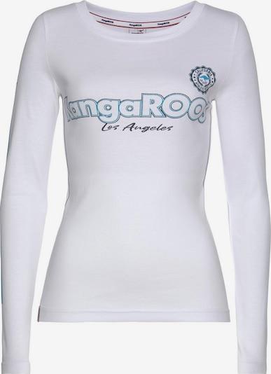 KangaROOS Shirt in weiß, Produktansicht