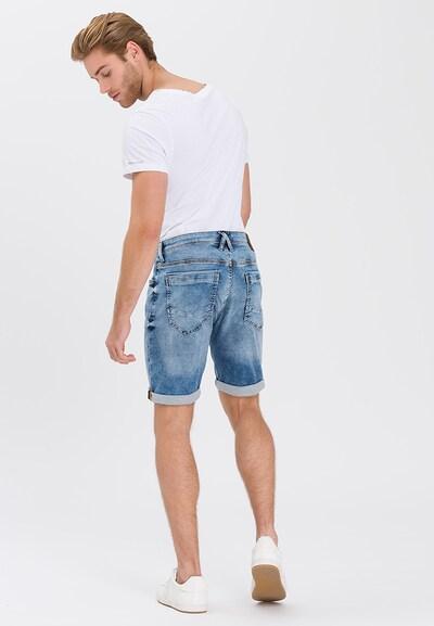 Cross Jeans Jeansshorts 'Leom' in blue denim: Rückansicht