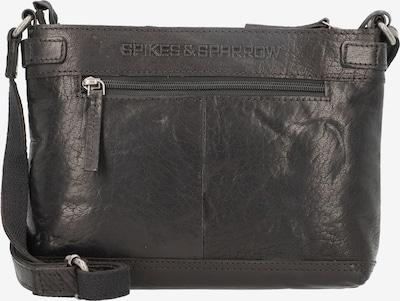 Spikes & Sparrow Umhängetasche in schwarz, Produktansicht