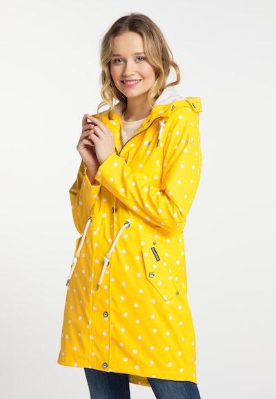 Schmuddelwedda Friesennerz in gelb / weiß, Modelansicht