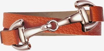 Dimacci Armband 'Favorit' in cognac, Produktansicht