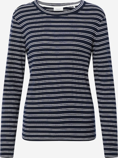 Marc O'Polo DENIM Longsleeve in navy / weiß, Produktansicht
