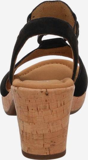 GABOR Sandaal in Bruin / Zwart OnREad9h