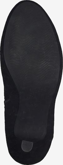 MARCO TOZZI Bottines en noir: Vue de dessous