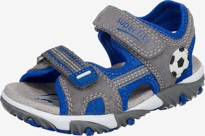 SUPERFIT Sandalen 'Mike 2' in blau / grau, Produktansicht