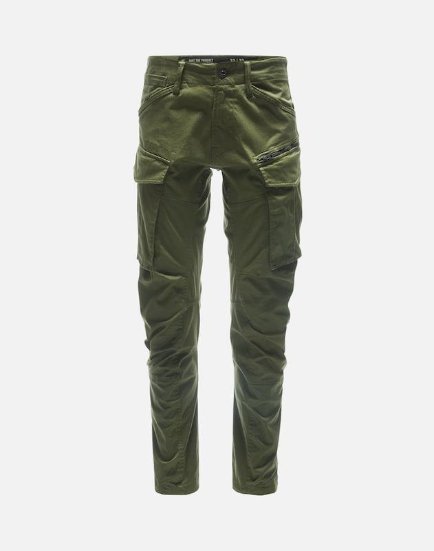 Cargo Vert En 3d Foncé G Raw star 'rovic Pantalon Tapered' qPa6va8