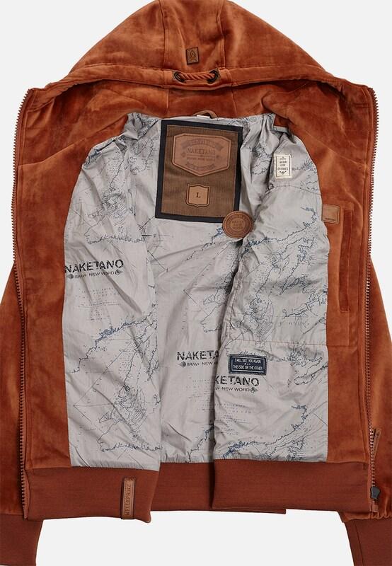 naketano Male Jacket 'Surviving Is a Spirit'