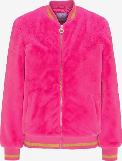 MYMO Jacke in goldgelb / pink, Produktansicht