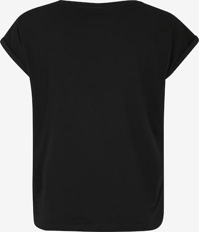 Marškinėliai iš Urban Classics Curvy , spalva - juoda: Vaizdas iš galinės pusės