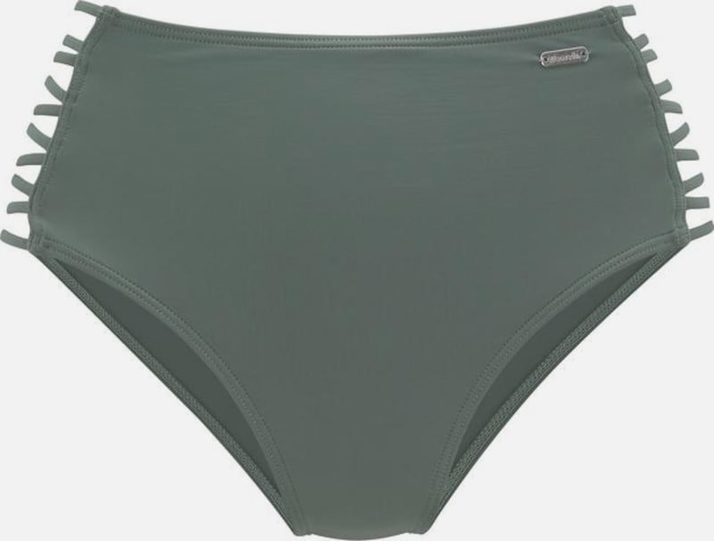 BENCH Bikini-Hose 'Perfect' in oliv / schwarz, Produktansicht