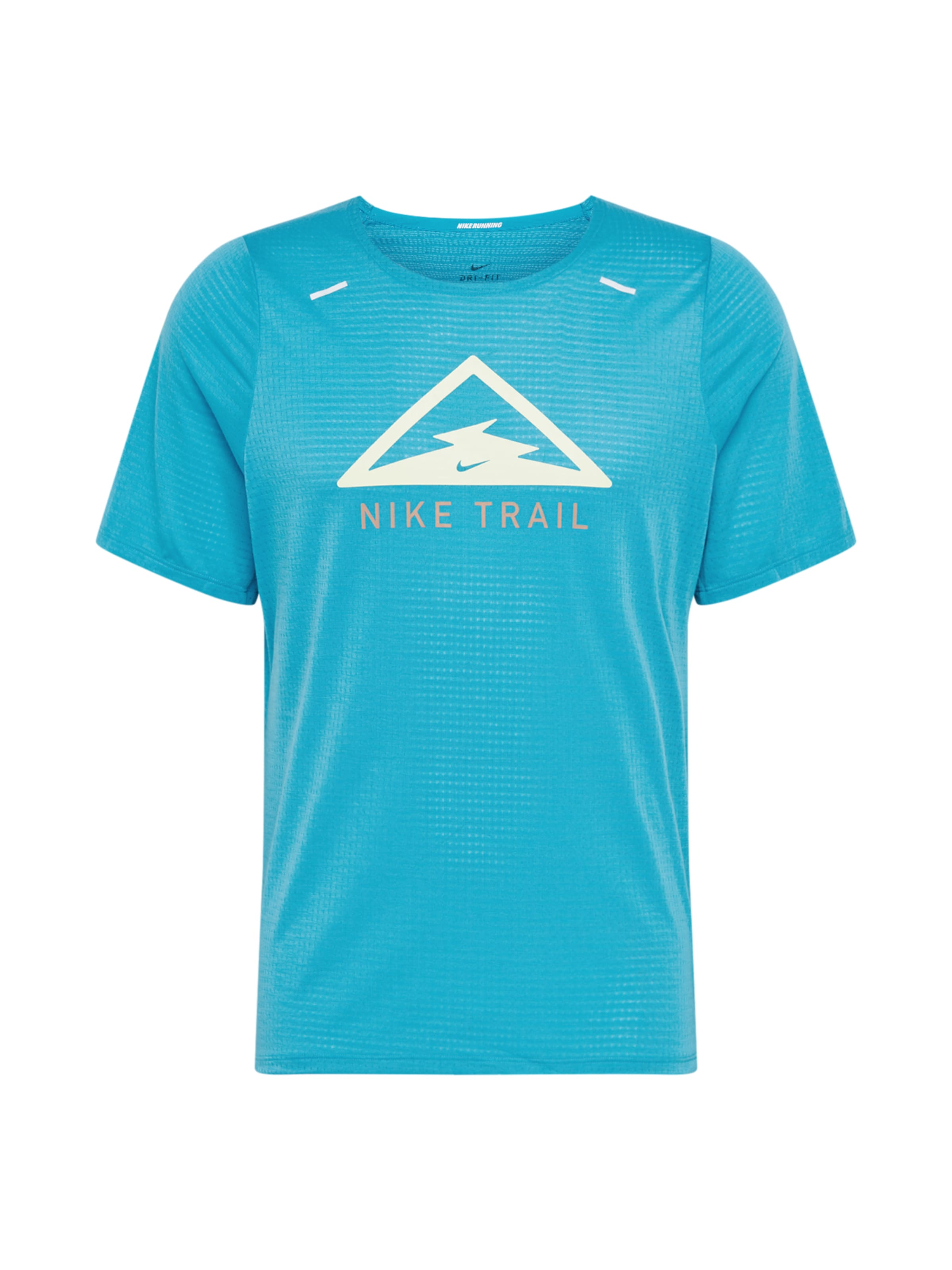 NIKE Funktionstopp 'Rise 365 Trail' i beige / blå / vit