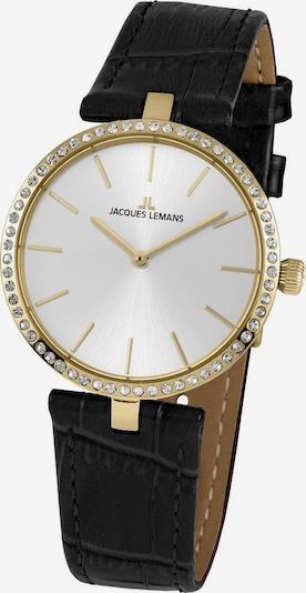 Jacques Lemans Uhr 'Milano' in gold / schwarz, Produktansicht