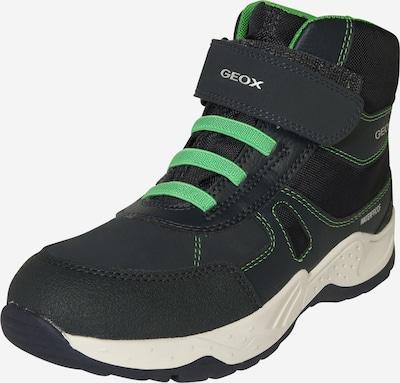GEOX Kids Stiefel in navy / neongrün, Produktansicht