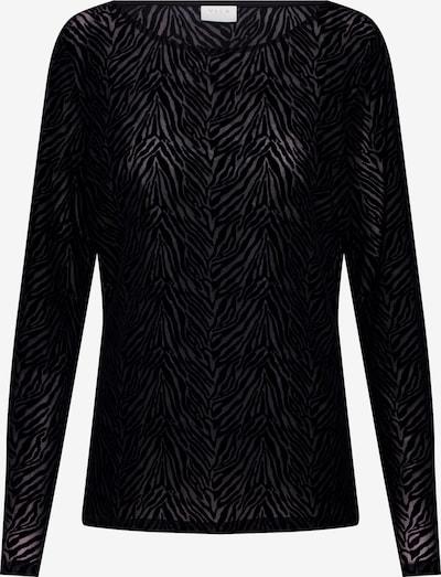 VILA T-Krekls 'SEBRA' pieejami melns: Priekšējais skats