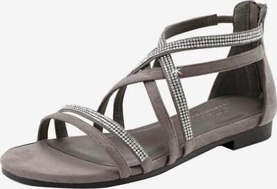 LASCANA Sandale in grau / silber, Produktansicht
