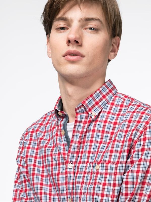 Marc O'Polo Hemd 'Button dow n, long sleeve, one chest pock 100CO'