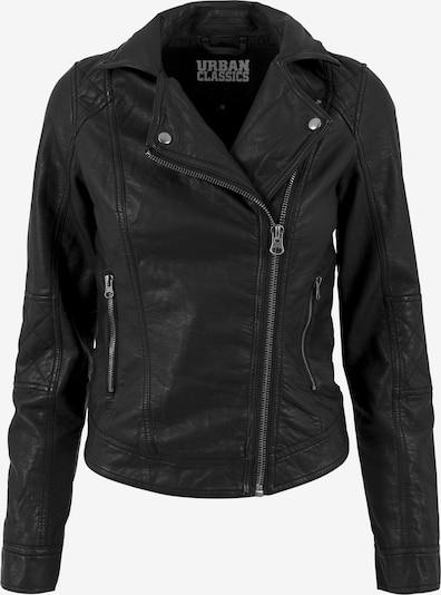 Urban Classics Biker Jacket in schwarz, Produktansicht