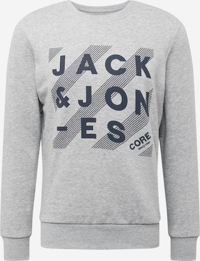 JACK & JONES Sweater majica 'HERO' u morsko plava / siva melange, Pregled proizvoda