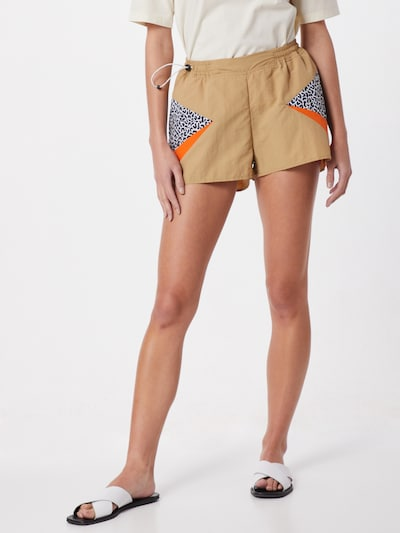 Iriedaily Shorts 'Streetz Short' in sand / orange, Modelansicht
