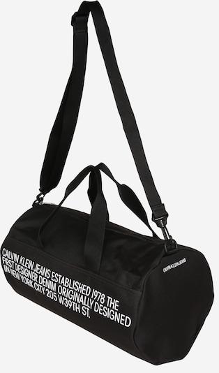 Calvin Klein Jeans Atpūtas soma 'BARREL' pieejami melns, Preces skats