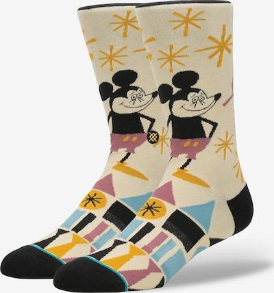 Stance Socke 'Disney Yusuke Mouse' in beige / mischfarben, Produktansicht