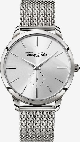 Thomas Sabo Quarzuhr 'WA0300-201-201-42 mm' in Silber