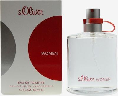s.Oliver 'Woman' Eau de Toilette in rot / transparent, Produktansicht