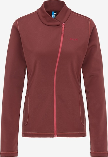 PYUA Fleece-Jacke 'Appeal' in rot, Produktansicht