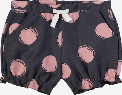 SANETTA Shorts in altrosa / schwarz, Produktansicht