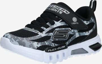 SKECHERS Sneaker 'FLEX-GLOW TAREN' in Schwarz