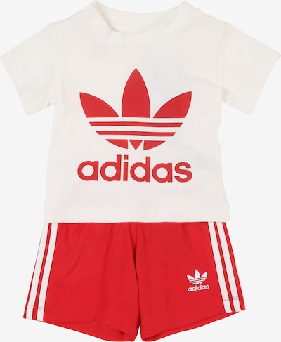 ADIDAS ORIGINALS Set in rot / weiß, Produktansicht