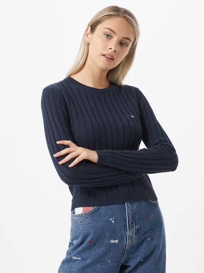 Tommy Jeans Pullover in navy, Modelansicht