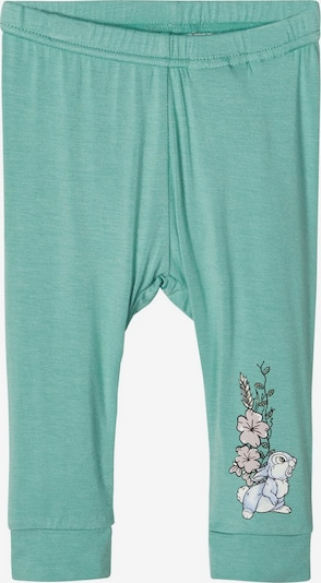 NAME IT Leggings 'Disney Bambi' in jade, Produktansicht