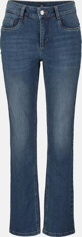 MAC 5-Pocket-Jeans 'Melanie Stitch'