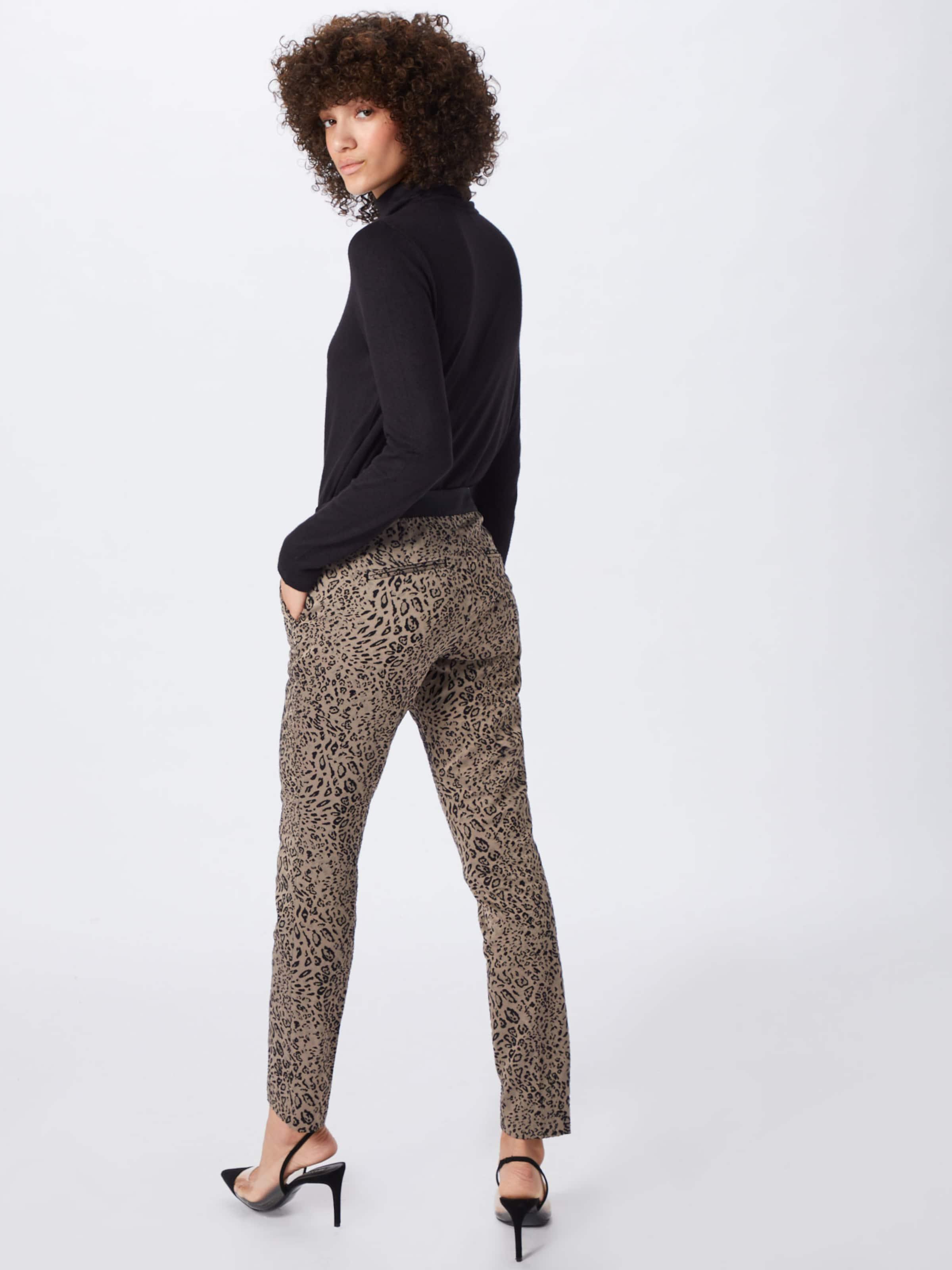 Comma Pantalon En Chino FoncéNoir Beige uKc5JTlF13