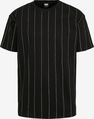 Urban Classics T-Shirt en noir / blanc, Vue avec produit