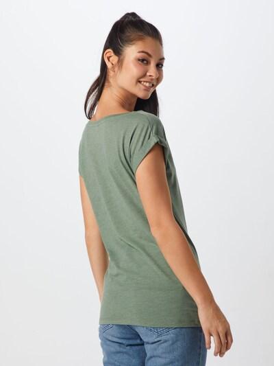 Tricou 'Iriecat' Iriedaily pe oliv: Privire spate