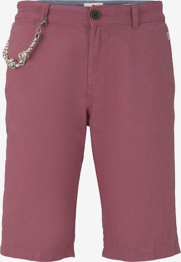 TOM TAILOR Shorts in himbeer, Produktansicht